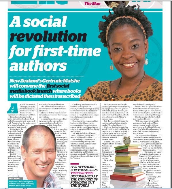 A Social Revolution for first-time authors