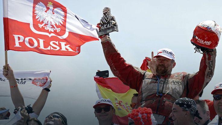 Burzowy finisz, Rafał Sonik drugi w Abu Dhabi Desert Challenge