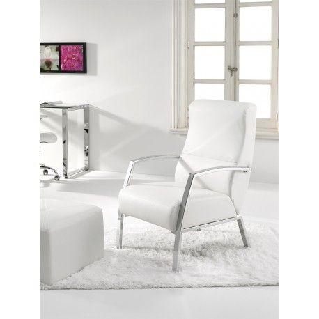 Pack de dos sillones para salón,cocina o recibidor son dos magnificas butacas con estructura cromada tapizado en piel sintética.