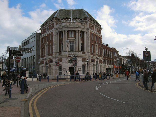 NatWest Bank Eastbourne Town Centre