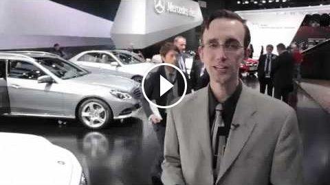 2014 Mercedes E-Class and E63 AMG – 2013 Detroit Auto Show