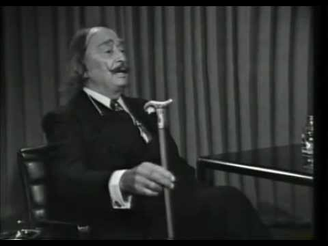 Entrevista a un genio puerco, polimorfo, anarquista... Dalí Entrevista a Salvador Dalí - A Fondo (1977)