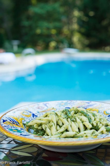 Pesto Genovese (Genoese Basil Sauce) Recipe and tips for proper proportions of ingredients, seasoning and cheese
