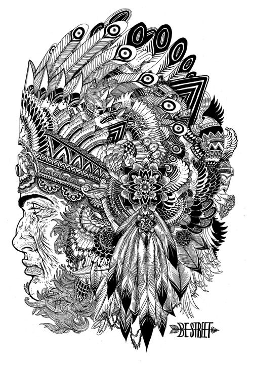indian head  ink  2012  Iain Macarthur