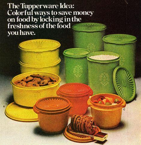 Tupperware 70er jaren