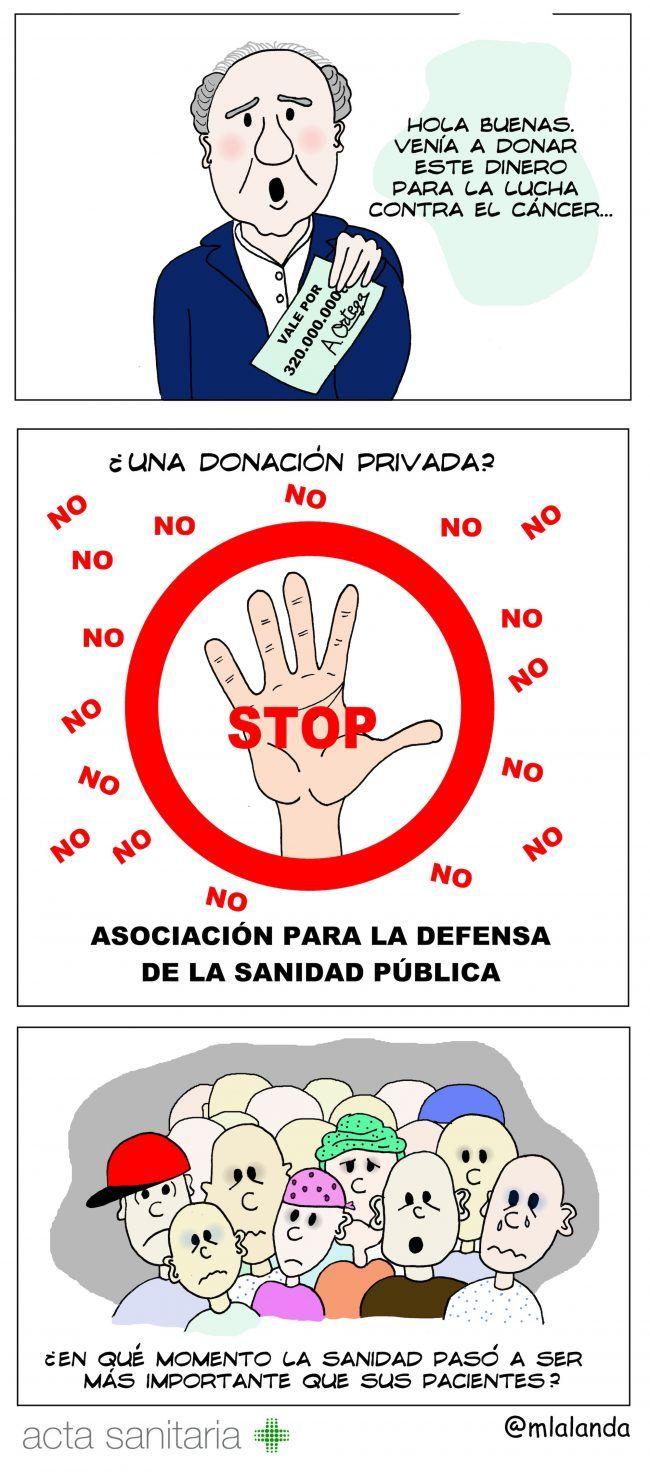 Donaciones conflictivas #08.06.17 - Viñetología por Mónica Lalanda