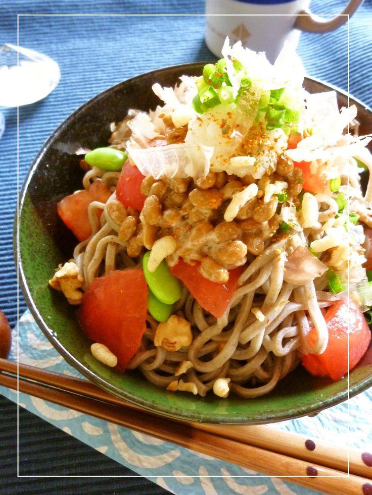 トマト納豆おろし蕎麦 by ミッキーアン [クックパッド] 簡単おいしいみんなのレシピが265万品