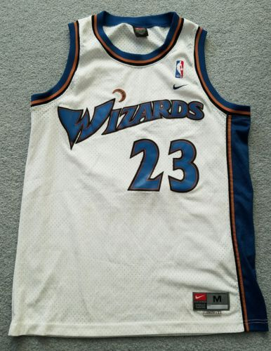 Michael Jordan Washington Wizards Nike Swingman Jersey Medium SEWN