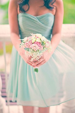 51 Reasons To Crave A Mint Themed Wedding All of these, yes! with burlap and glass bottles and pink and white accents with lace and pearl. I want it all