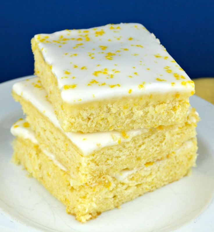 Lemon-Brownies