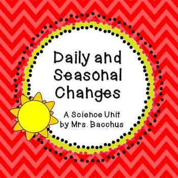 Daily and Seasonal Changes - A Science Unit with Lesson Id