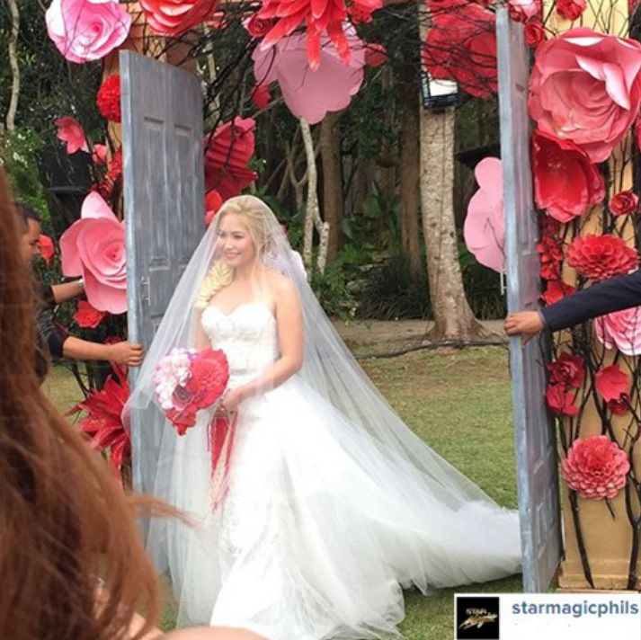 Iya Wedding Gown: 28 Best Images About Pinay Brides On Pinterest