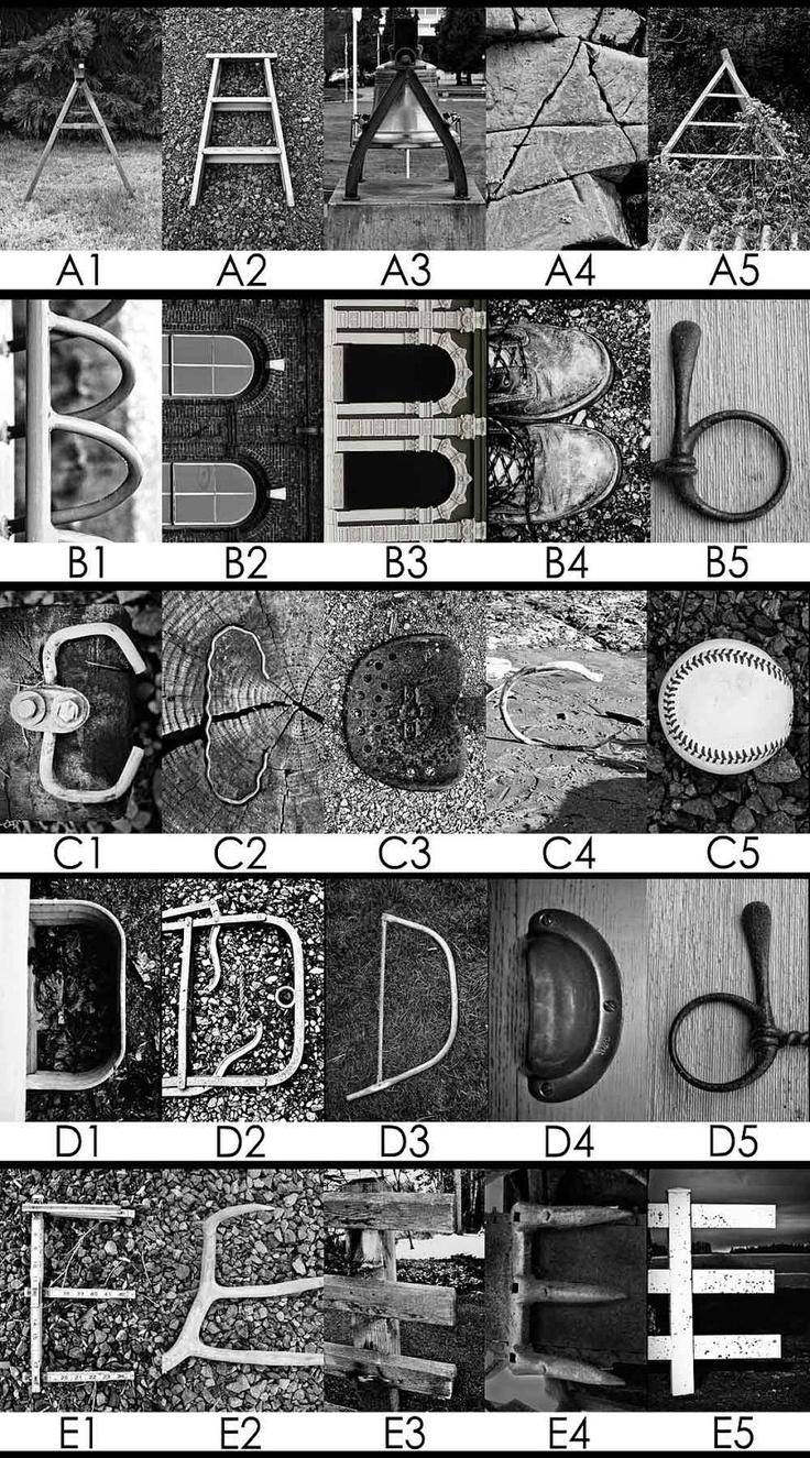 Alphabet Letter Photography Alphabetography Letter Art Letters. $4.00, via Etsy.