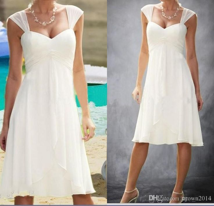 Wholesale panina wedding dresses, vintage dresses online and wedding ball gowns on DHgate.com are fashion and cheap. The well-made cheap 2016 beach wedding dress a line cap sleeve sweetheart pleated empire knee length chiffon cap sleeve wedding bridal gowns plus size sold by crown2014 is waiting for your attention.