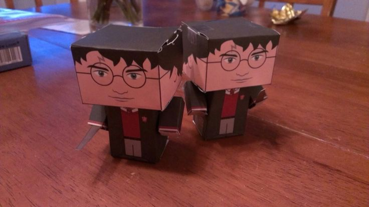 Harry Potter paper art