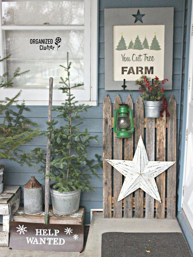 You Cut Tree Farm #stencils #oldsignstencils #outdoordecor #junkdecor #rusticChristmas