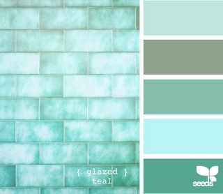 aqua: Teal Colors, Teal Bathroom, Bathroom Colors, Idea, Design Seeds, Paintings Colors, Colors Palettes, Colors Schemes, Glaze Teal