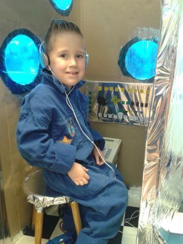 Samen atelier: spelen in de raket