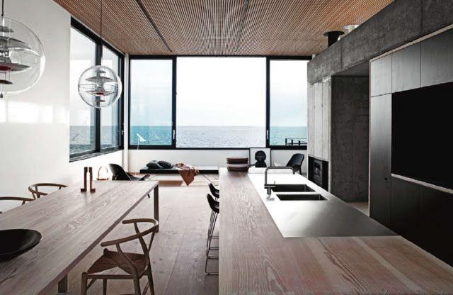 La Boheme - design and architecture: Sunday Mornings. Danish Summerhouse on Langeland. Dansk arkitektur.