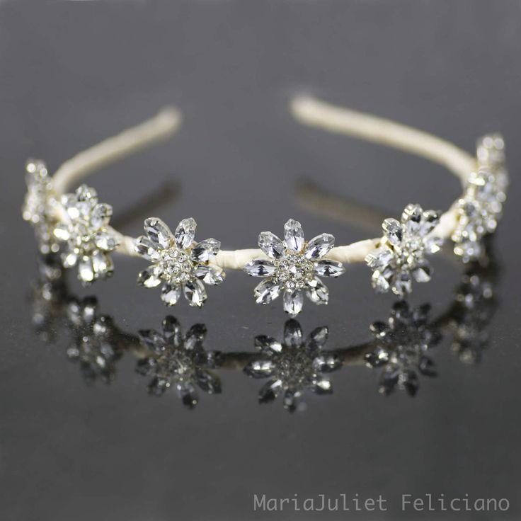 Bursting Crystal Star Tiara Headband, Bridal Headband, Bridal Crown, Headpiece, Wedding Tiara, Crystal Headband, Bridal Headpiece #Daisy by MariaJulietFeliciano on Etsy https://www.etsy.com/listing/522916649/bursting-crystal-star-tiara-headband