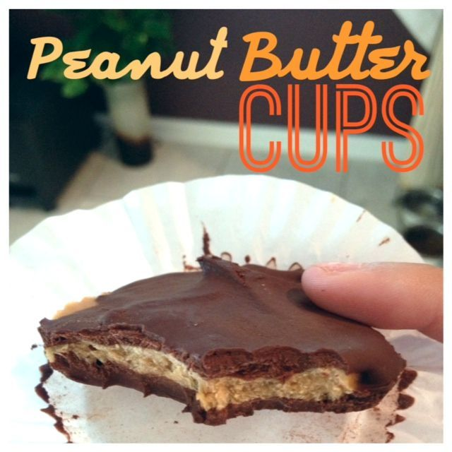 A yummy Healthy Chocolate Peanut Butter Cup thats under 100 calories?! Shut the Front DOOR! Yes its true Folks! You can have chocolate and gain muscle ;) As most of you know, I discovered PB2 (Powd...