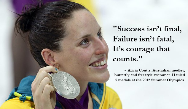 #Swimming legend Alicia Coutts, Australian medley, #butterfly and #freestyle swimmer