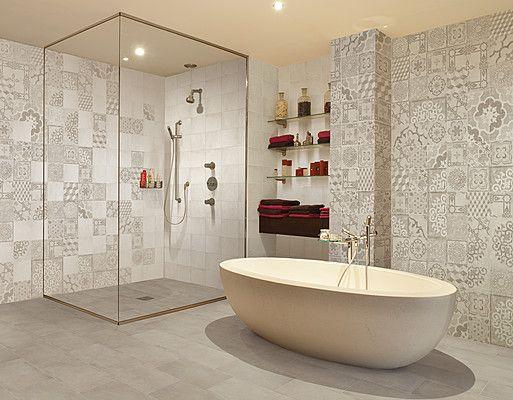 Badezimmer Tapeten Auf Fliesen : ?ber 1.000 Ideen zu ?Fliesen Betonoptik auf Pinterest Fliesen In