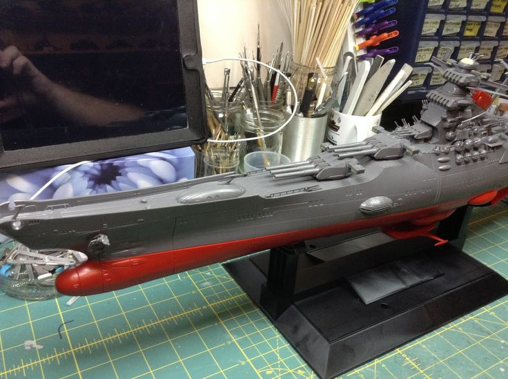 The Old Goat's build of the Space Battleship Yamato. A great build of this massive kit