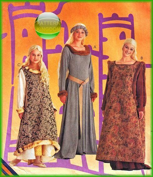 pattern kingdom ladies medieval - photo #6