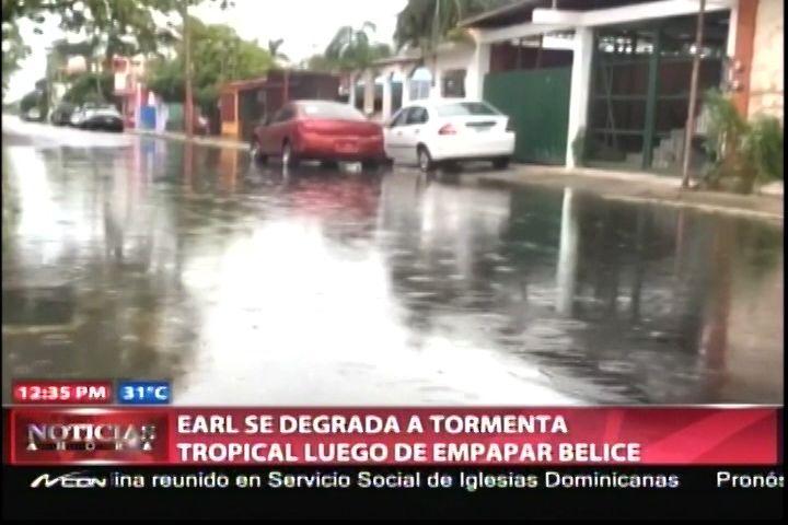 El Huracán Earl Se Degrada A Tormenta Tropical Luego De Empapar La Ciudad De Belice