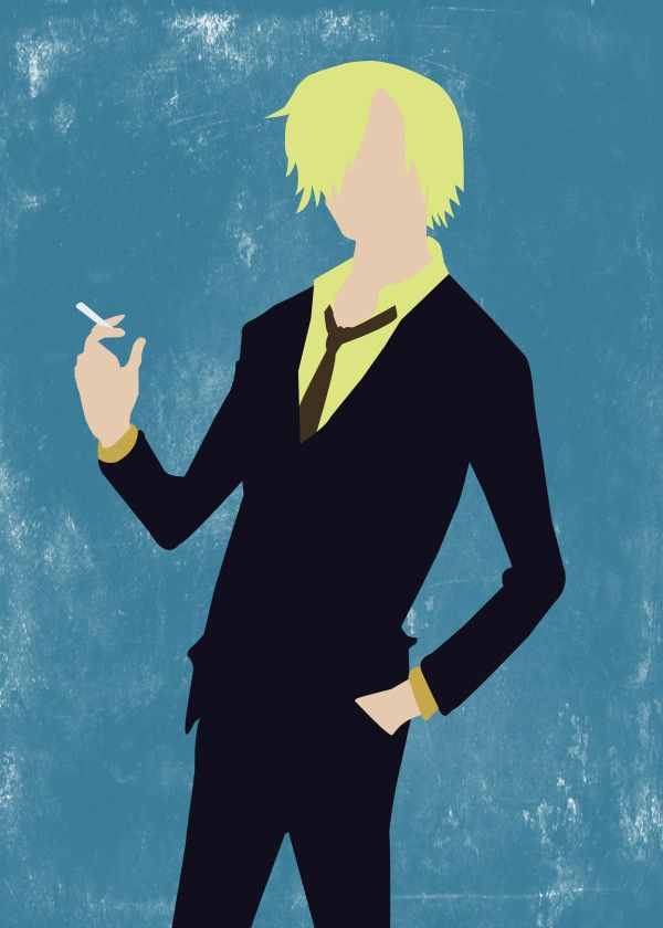"One Piece Minimalist Characters Vinsmoke Sanji #Displate artwork by artist ""Seb D."". Part of a 9-piece set featuring minimalist artwork based on characters from the popular One Piece anime TV show. £37 / $50 per poster (Regular size), £66 / $89 per poster (Large size) #OnePiece #StrawHatPirates #PirateWarriors #GrandBattle #Anime #Manga #MonkeyDLuffy #PortgasDAce #RoronoaZoro #Sabo #TonyTonyChopper #Usopp"