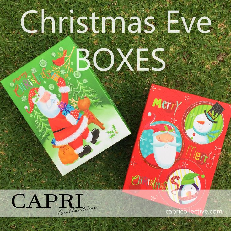 Kids Christmas Eve Boxes — Capri Collective. DIY What to pack in them.