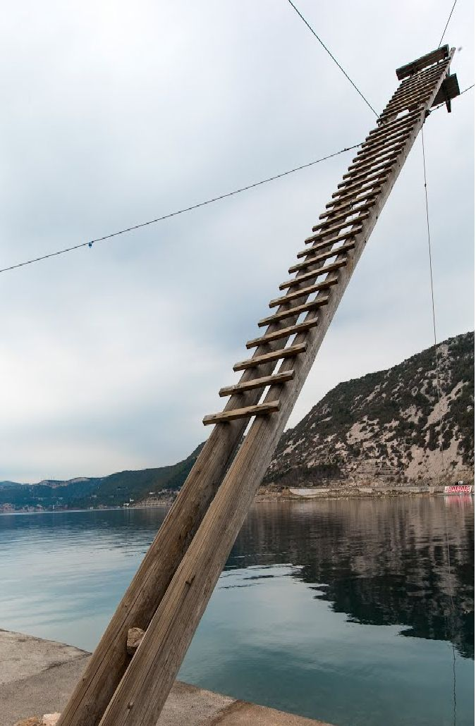 Old tuna watchtower - town of Bakar - Northern Adriatic - Croatia