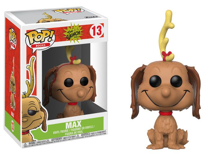 The holiday spirit continues at Funko.From the classic Dr. Seuss book How the Grinch Stole Christmas! Comes a Dorbz Ridez and a wave of Pop! vinyl.Collect them all this Fall! Dorbz Ridez: Dr.Seuss- The Grinch and MaxThis adorable ride comes equippedwith The Grinch himself, his trusty dog Max,and the stolen Christmas goods.The Grinch is now riding intoWho-ville to save Christmas!Coming in November! Pop! Books: The GrinchThe Grinch joins Pop! vinyl for thefirst time and is aided by his dog…