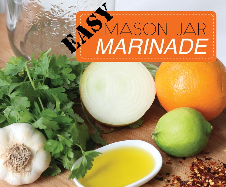 Easy Mason Jar Marinade Plus Win An Electrolux Stick Mixer To Make It With