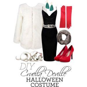 Cruella Deville Halloween Costume
