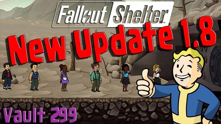 Fallout Shelter - New Update 1.8