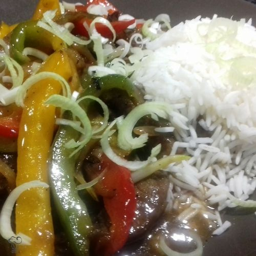 Chop suey de ternera