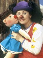 Loonette The Clown From The Big Comfy Couch Looks Amazing In Grown-Up Pics #refinery29