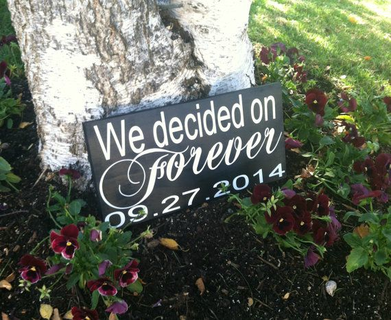 Save the Date Sign   Wedding Signs  by BlissfullyHomemade on Etsy, $22.95