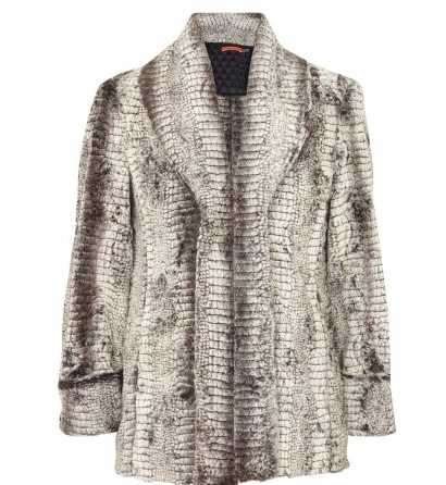 I first spotted this Alice and Olivia faux fur coat in Harvey Nichols (Knightsbridge)! Too early to buy now...but one for the November basket!!!