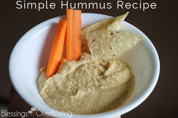 Here's a simple, easy-to-follow recipe for hummus that uses either canned or freshly cooked garbanzo beans.