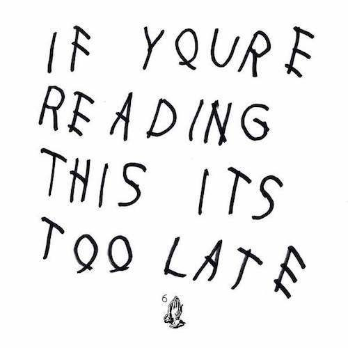 Surprise: Drake releases new 17 track album If Youre Reading This Its Too Late
