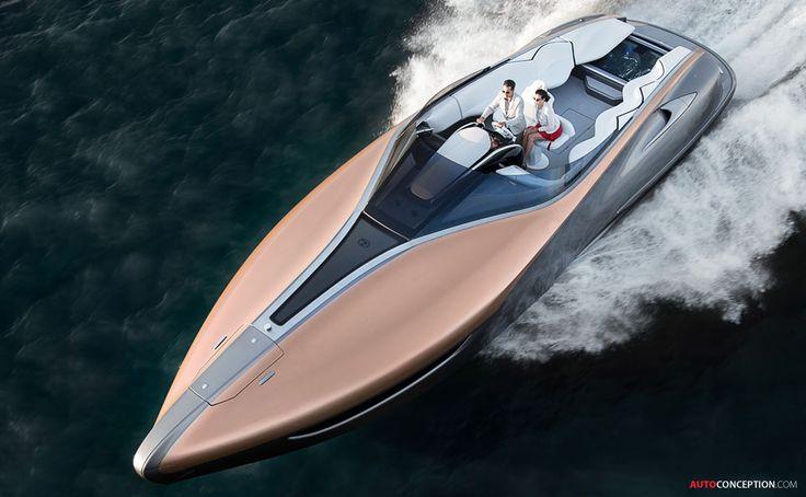Lexus Unveils Luxury Yacht Concept
