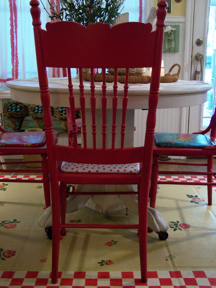 best 25+ red chairs ideas on pinterest | red kitchen tables