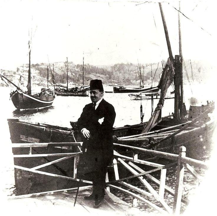 1920lerin sonlarında çekilmiş bir fotoğraf #Bogazici #istanlook #istanbul
