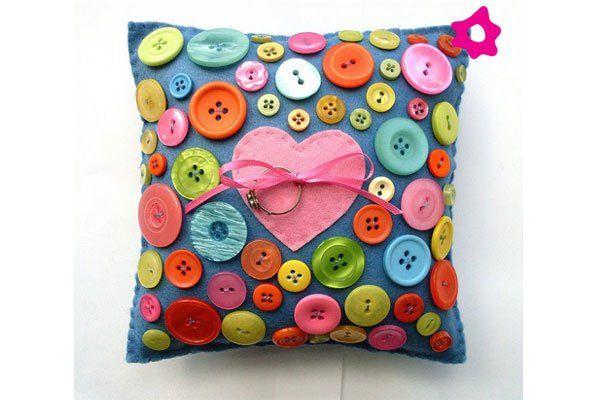 Inspiração: Sobre o Poder do Botão ! - CostureBem.com.br #botao #arte #artesanato