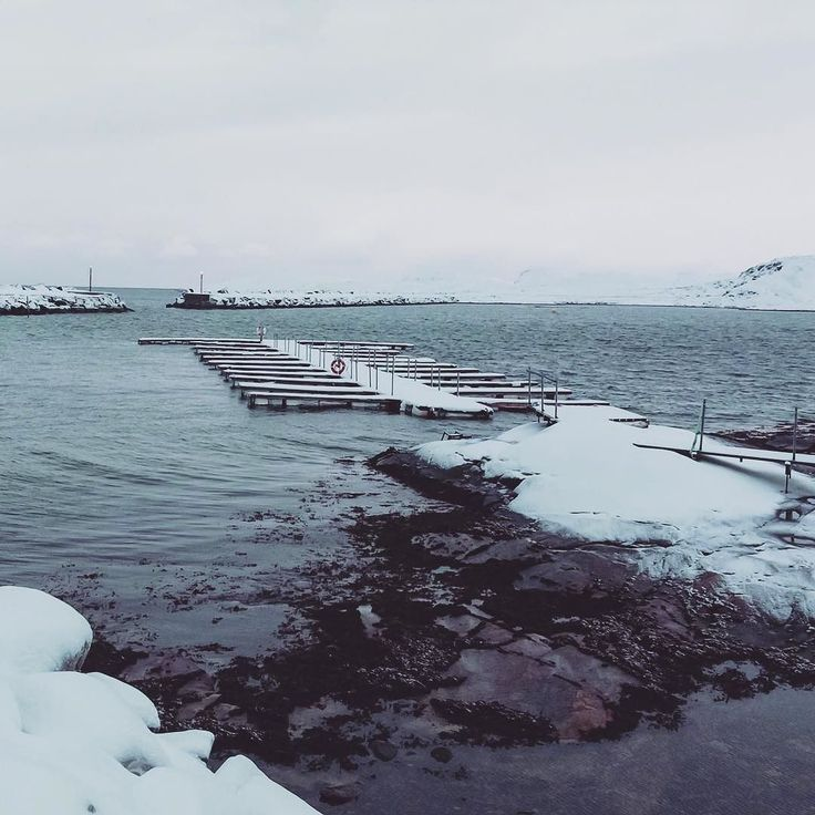 Empty docks in Bugøynes / Norway #sailing #sail #travel #sea #yachting #sea #boat #boating #journey #ocean #travel #life #voyage #sailboat #voile #voilier #docks #bugøynes #norway #winter by veryboattrip