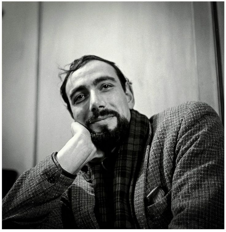 """Oscar Marzaroli portrait taken by his wife Anne. From the book 'Waiting for the magic"""""""
