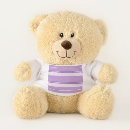 Strips - purple. teddy bear - Xmas ChristmasEve Christmas Eve Christmas merry xmas family kids gifts holidays Santa